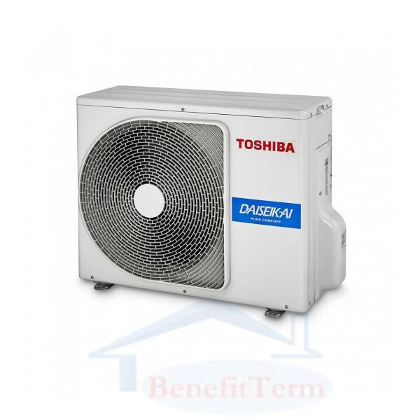 Toshiba Super Daiseikai 9 (2.5 kW) včetně montáže
