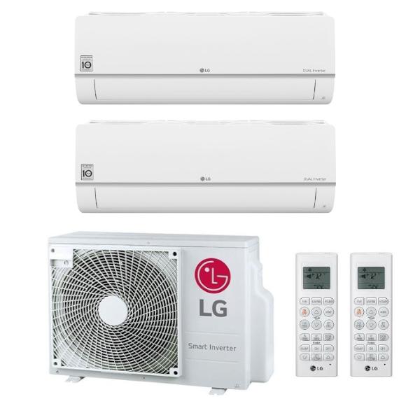 LG Standard Plus multisplit 2x1 (2.1 a 3.5 kW) včetně montáže