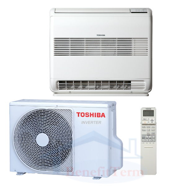 Toshiba Suzumi Plus parapetní 2,5 kW