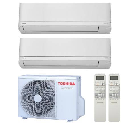 Toshiba Suzumi Plus multisplit 2x1