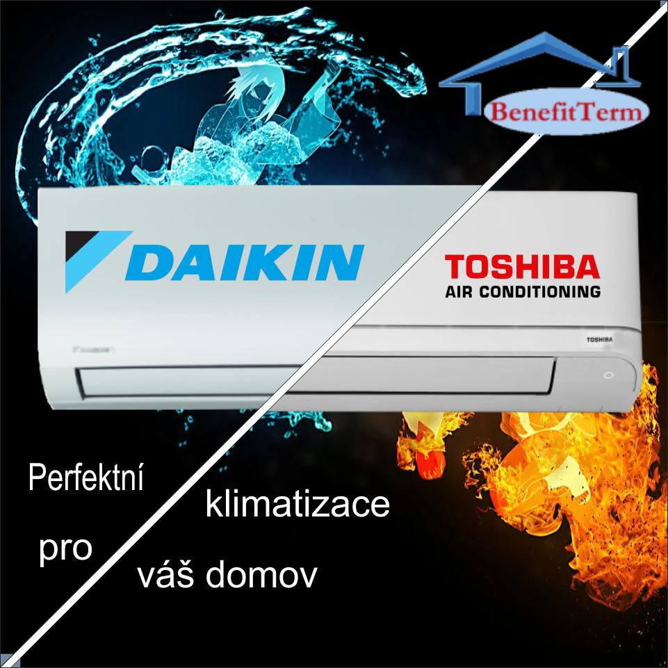 srovnane Daikin vs Toshiba
