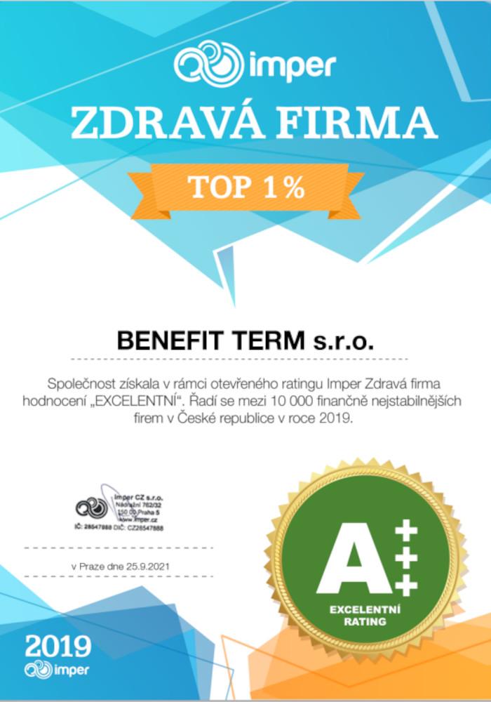 Zdravá firma Benefit Term s.r.o